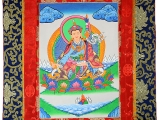 Thangka Rollbilld Padmasambhava