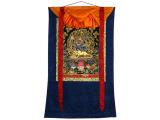 Tibetisches Thangka mit Yama und Yami