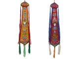 Tibetischer Damaru Schwanz Glückssymbole