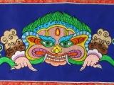 Tibetischer Wandbehang - Chhepu