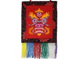 Tibetischer Wandbehang Red Mahakala
