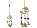Windspiel Glockenspiel mit Om Symbol